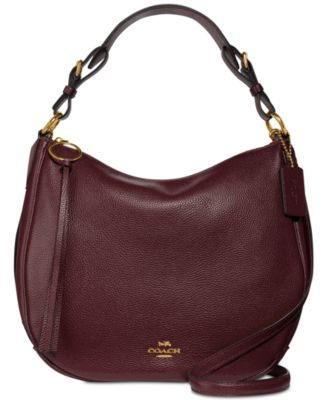 Sutton Hobo in Polished Pebble Leather