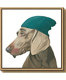 The Boys VI Dog by Myles Sullivan Canvas Framed Art