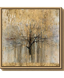 Amanti Art Open Arms Gold Crop by Avery Tillmon Canvas Framed Art
