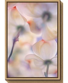 Amanti Art Under the skirts of flowers by Francois Casanova Canvas Framed Art