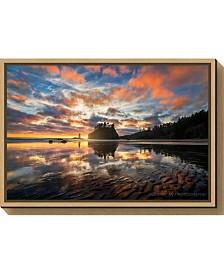 Amanti Art Sunset Symphony by John Fan Canvas Framed Art