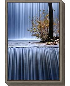 Autumn Interlude by Mary Kay Canvas Framed Art