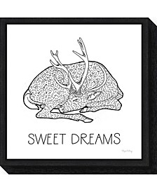 Color the Forest III Sweet Dreams by Elyse Deneige Canvas Framed Art