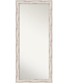 Alexandria Wood 29x65 Floor-Leaner Mirror