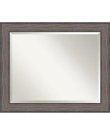 Country Barnwood 33x27 Bathroom Mirror