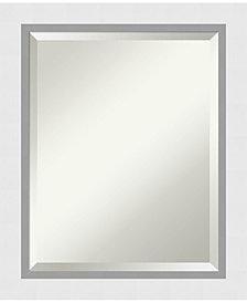 Amanti Art Blanco 20x24 Bathroom Mirror