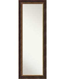 Amanti Art Veneto Distressed 19x53 On The Door/Wall Mirror