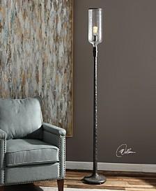 Uttermost Hadley Old Industrial Floor Lamp