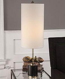 Uttermost Sterculia Antique Gold Champagne Lamp
