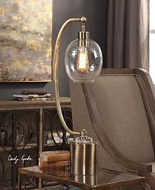 Uttermost Gacinia Seeded Glass Globe Lamp