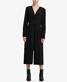 DKNY Long-Sleeve Jumpsuit, Created for Macy's