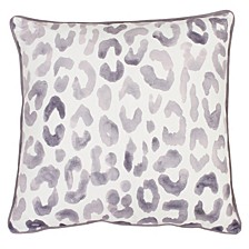 "Miron Cheetah Velvet Pillow, 20"" x 20"""