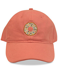 Concept One Doughnut Embroidered Cotton Dad Cap