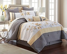 Candice 12 PC Comforter Set, Queen