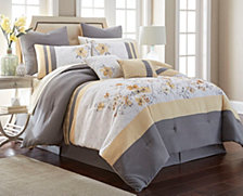 Nanshing Candice 12 PC Queen Comforter Set