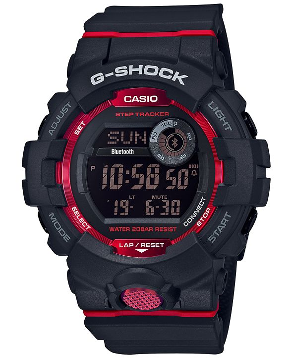 G-Shock Men's Black Resin Strap Watch 48.6mm