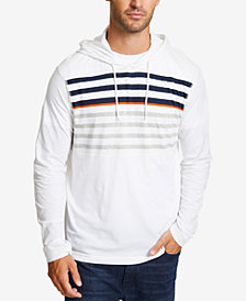 Nautica Men's Beach to Street Striped Hoodie