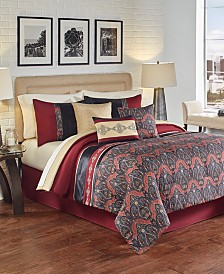 Farrah 7-Pc. California King Comforter Set, Created for Macy's