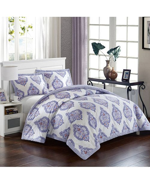 Chic Home Grand Palace 3 Pc Full/Queen Duvet Cover Set