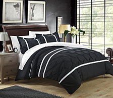 Chic Home Veronica 3 Pc King Duvet Cover Set
