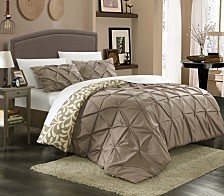 Chic Home Talia 3-Pc. Duvet Cover Sets