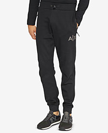 A|X Armani Exchange Men's Swift Logo Jogger Pants