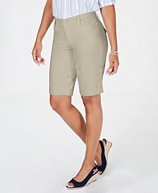 Petite Tummy Control Bermuda Shorts, Created for Macy's