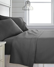 Home Collection 300 Thread Count 4 Piece Bed Sheet Set - 100% Cotton, California King