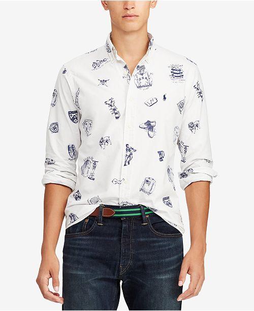 d41a2b972ef Polo Ralph Lauren Men s Classic Fit Oxford Shirt   Reviews - Casual ...