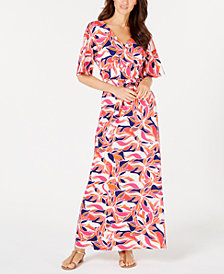 Pappagallo Lani Printed Maxi Dress