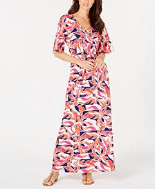 Pappagallo Lani Printed Maxi Dress