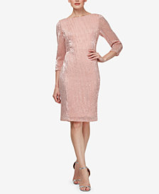 SL Fashions Sequined Sheath Dress
