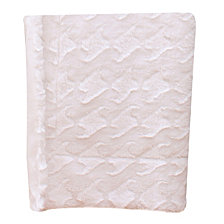 Brushed Faux Fur Decorative Throw Micromink Back