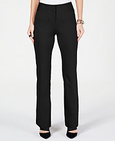 Alfani Petite Snap-Waist Trousers, Created for Macy's