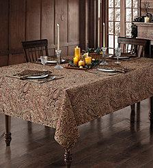 """Waterford Esmerelda 70"""" X 84"""" Tablecloth"""