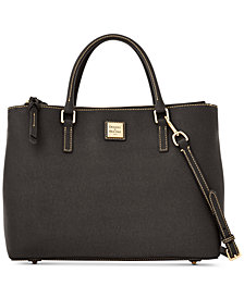 Dooney & Bourke Saffino Willa Zip Satchel