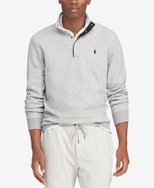 Polo Ralph Lauren Men's Big & Tall Double-Knit Half-Zip Pullover