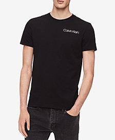 Calvin Klein Men's Ribbon-Print Logo T-Shirt
