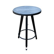 Isla Iron Swiveling Bar Table