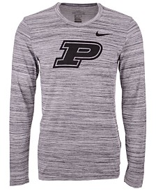 Nike Men's Purdue Boilermakers Legend Travel Long Sleeve T-Shirt