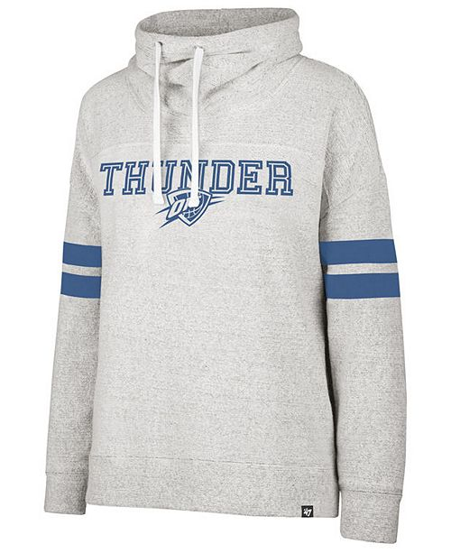 '47 Brand Women's Oklahoma City Thunder Offsides Funnelneck Sweatshirt