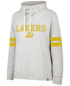 '47 Brand Women's Los Angeles Lakers Offsides Funnelneck Sweatshirt