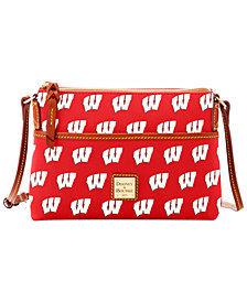 Dooney & Bourke Wisconsin Badgers Ginger Crossbody