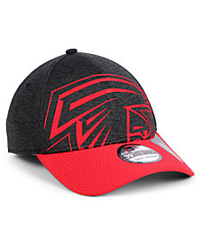 New Era Atlanta Falcons Oversized Laser Cut Logo 39THIRTY Cap
