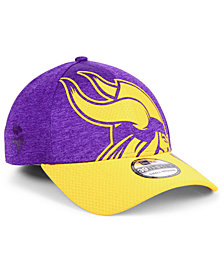 New Era Minnesota Vikings Oversized Laser Cut Logo 39THIRTY Cap