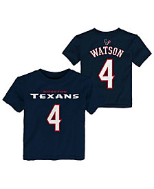 Outerstuff DeShaun Watson Houston Texans Mainliner Player T-Shirt, Toddler Boys (2T-4T)