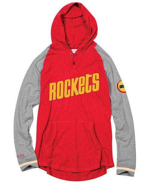 18128a451ca Mitchell & Ness Men's Houston Rockets SlugFest Hoodie & Reviews ...