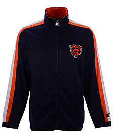Starter Men's Chicago Bears The Challenger Track Jacket