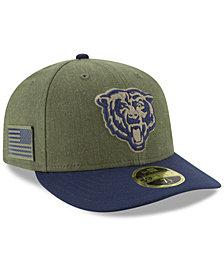 New Era Chicago Bears Salute To Service Low Profile 59FIFTY Fitted Cap 2018