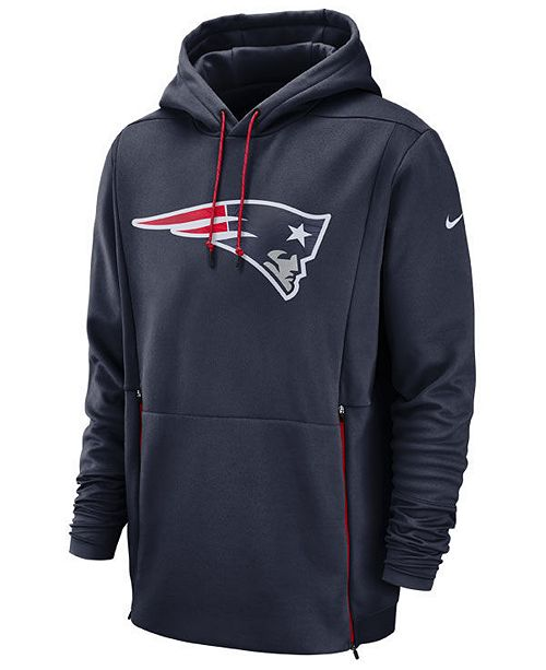 50fff2a639c ... Nike Men s New England Patriots Sideline Player Therma Hoodie ...